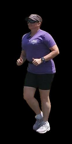 Coach Mandy Jo walking